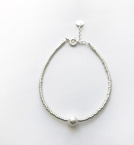 Lu armbånd – Sølv