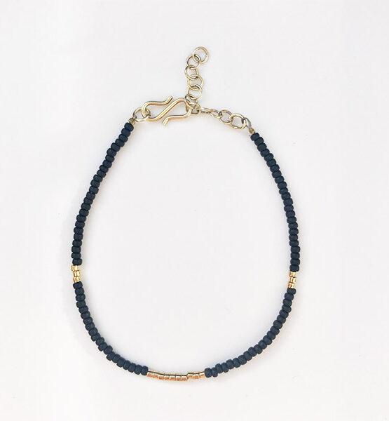 Gold/black – armbånd