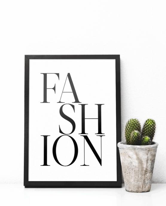 Print-selv-plakat – Fashion