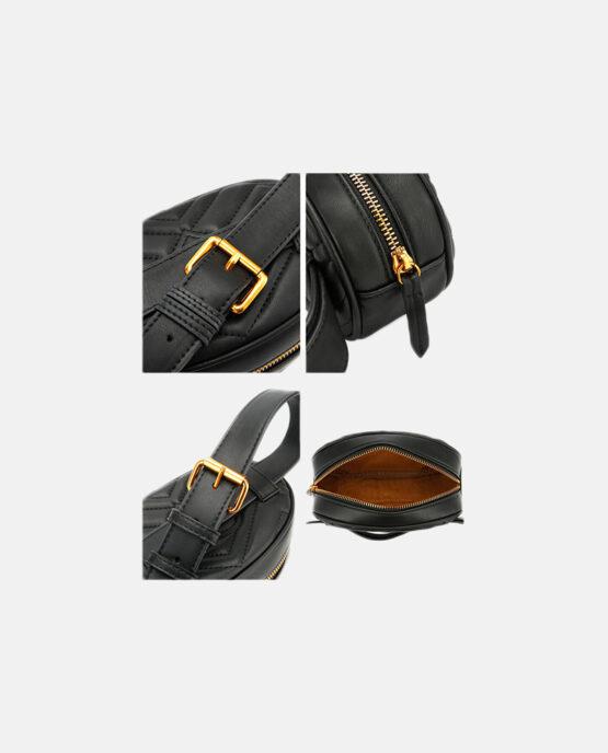Bæltetaske sort